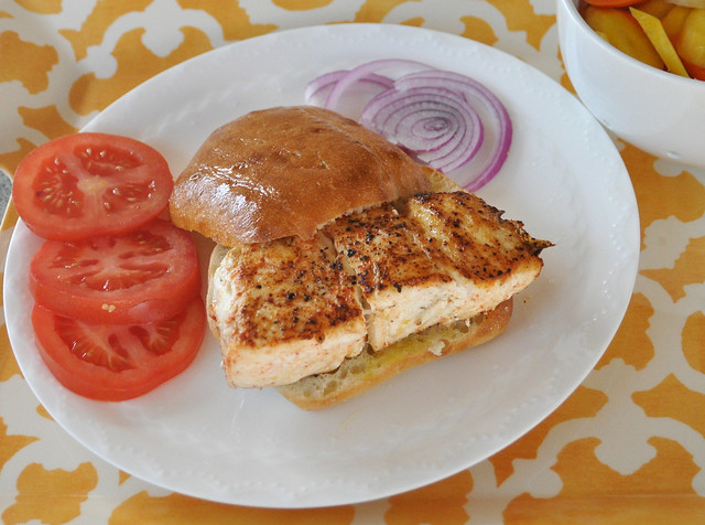 Halibut Sandwich