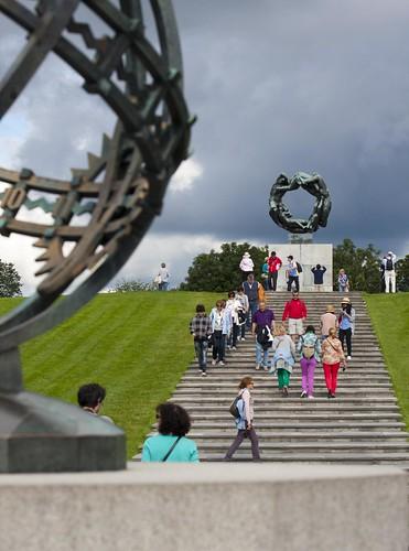 417 Parque Vigeland 20 julio - Oslo
