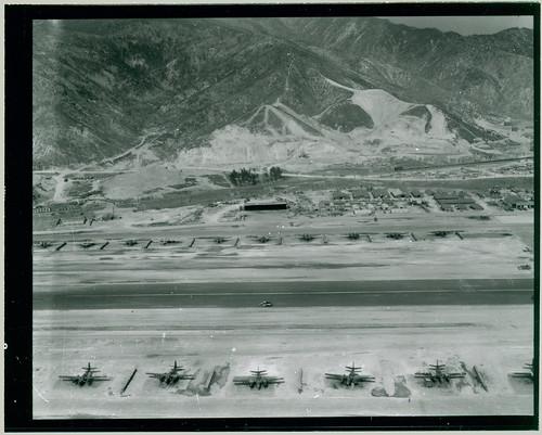Air base from the air