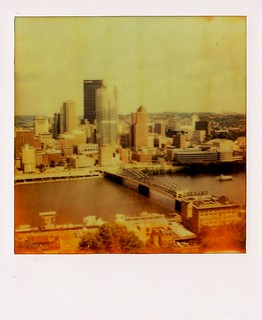Downtown Pittsburgh as seen from Mt Washington