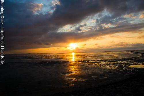 Sonnenuntergang & Watt