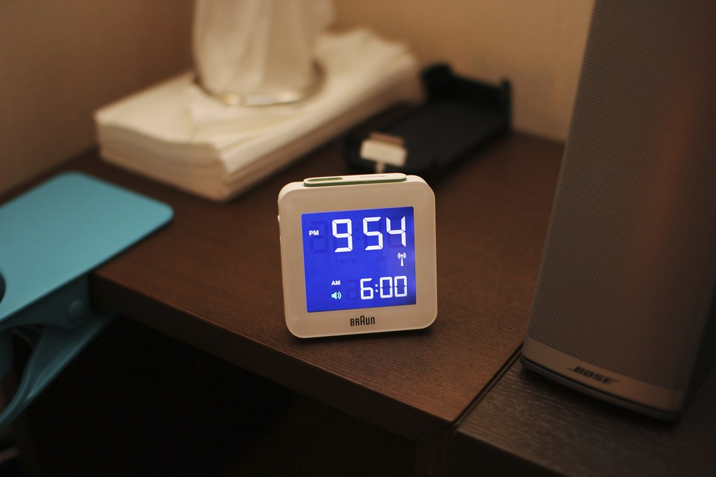 BRAUN Digital Clock BNC009