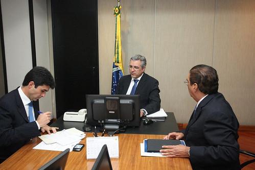 Audiência com Ministro Alexandre Padilha