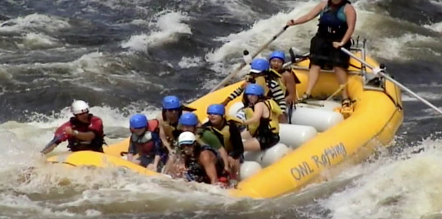 Rafting on the Ottawa River