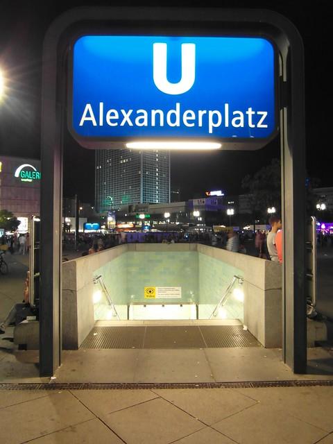 u bahnhof alexanderplatz rome - photo#3