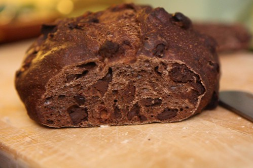 Hot Bread Kitchen Cherry Chocolate Bread