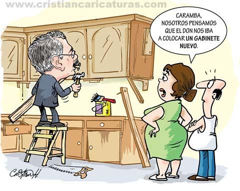 Caricatura gabinete