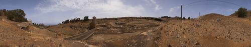 Restos de la presa de Granillar, Las Palmas de Gran Canaria. Isla de Gran Canaria