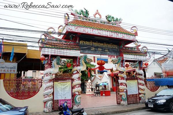 Singora Tram Tour - songkhla old town thailand-016