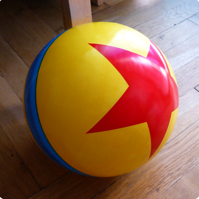 Toy Story Ball : Pixar luxo s ball flickr photo sharing