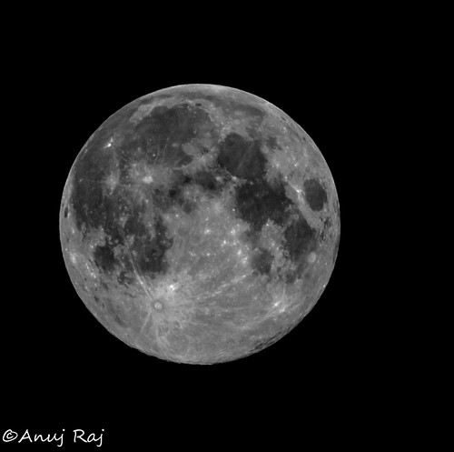 Full Moon Aug 2 HDR by powershotpix