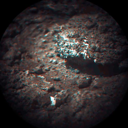 Curiosity Chemcam sol 15