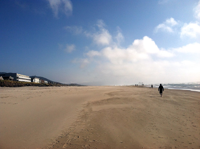 Sunny Rockaway Beach