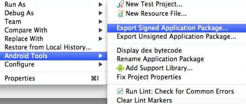 ExportSignedApplicationPackage