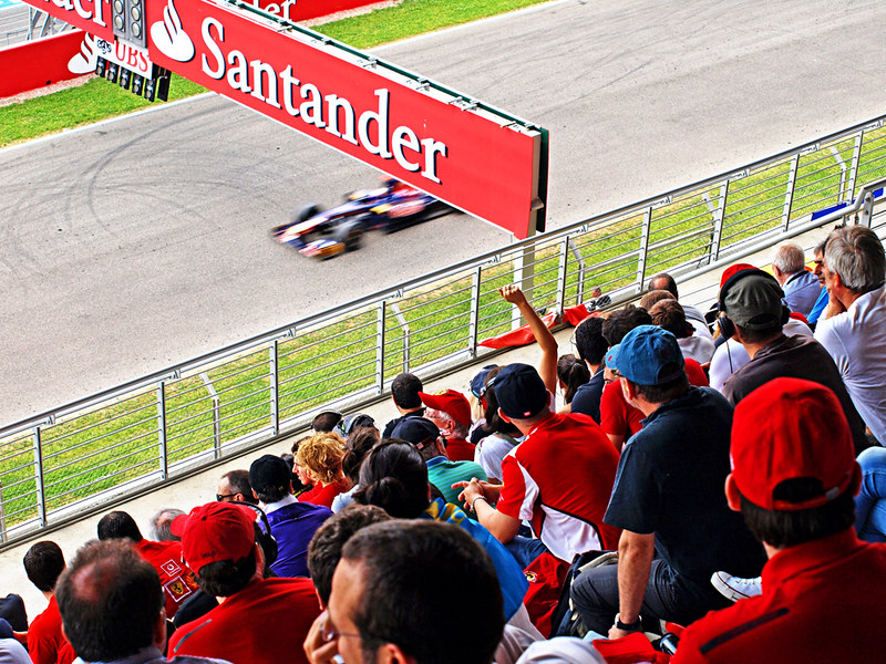 End of Spanish Grand Prix, Circuit de Catlunya, Barcelona
