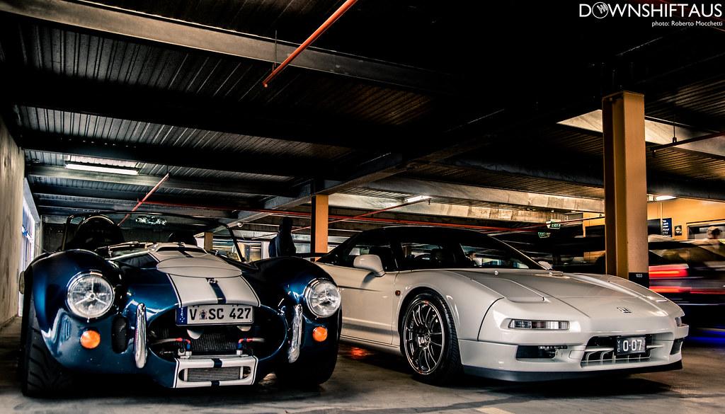 AC Cobra + NSX
