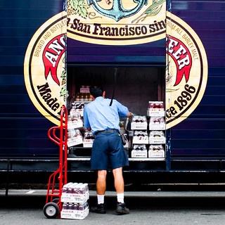 Loading Up on the Old Anchor Steam