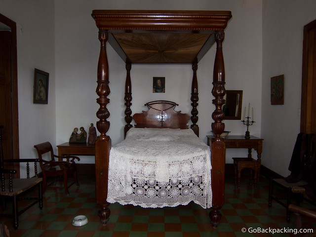 Bedroom of Mercedes Sierra