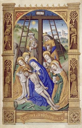 014-Libro de horas de Carlos VIII Rey de Francia -1401-1500-Copyright Biblioteca Nacional de España