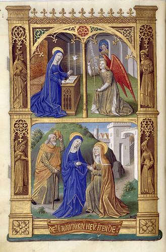 017-Libro de horas de Carlos VIII Rey de Francia -1401-1500-Copyright Biblioteca Nacional de España