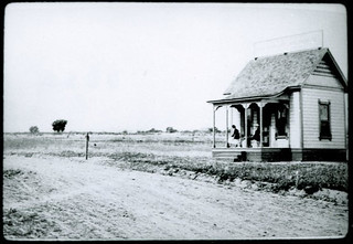 Claremont real estate office in 1887