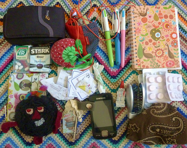 What can be found in your bag (challenge)