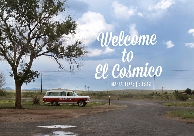 WelcomeToElCosmico
