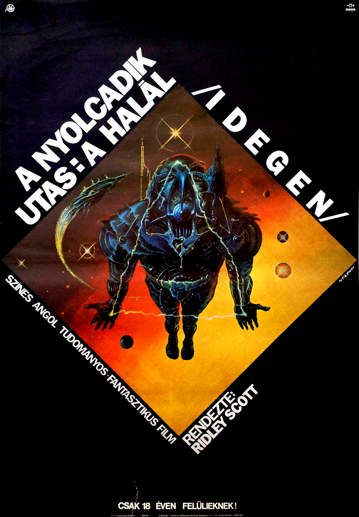 Alien (Hungarian Poster) 1979