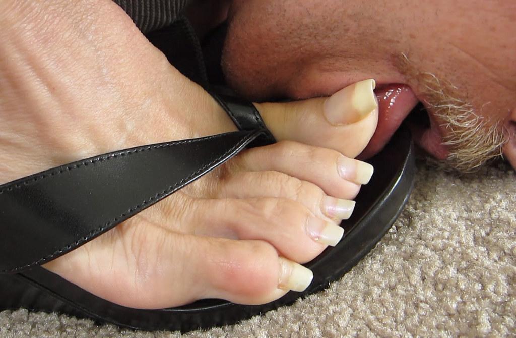 Sexy Toe Licking 74