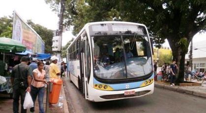 Ônibus em Santarém