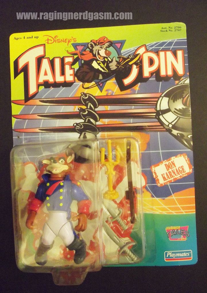 Dysney's Tale Spin Action Figures by Playmates 1991 016