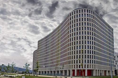 Edificio Xunta Navia X by sairacaz