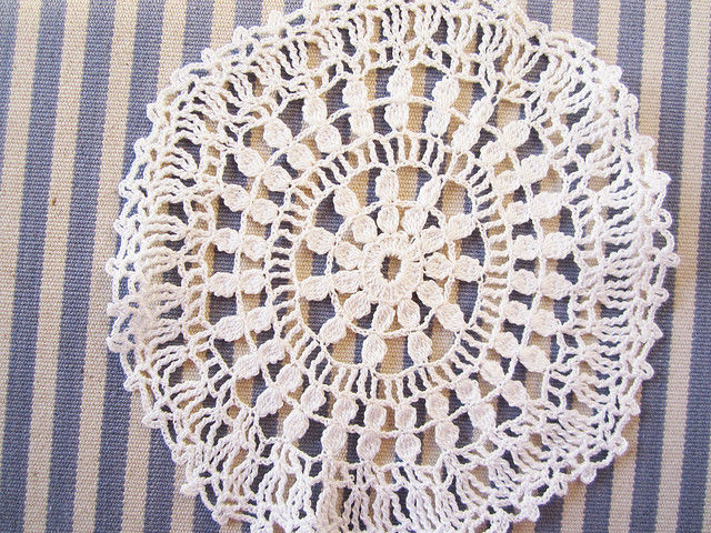 Thrifted doily 2