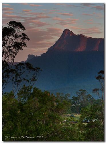 sunset canon australia nsw aus mountwarning murwillumbah australianbush northernnsw tyalgum eos450d 450d hitechfilters 09ndhitechreversegrad 090reversegrad tamron90mmf28mm11macro