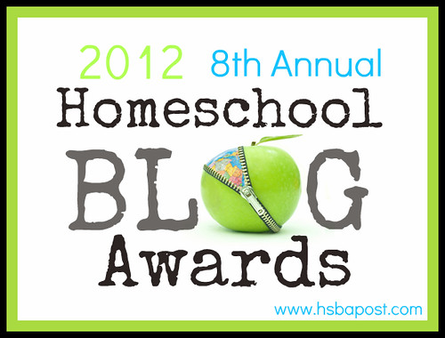 2012 Homeschool Blog Awards