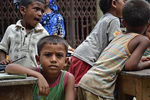 Bagmusa Dalit Cobbler Community. Subornogram School for the Cobbler Children