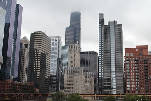 les grattes ciel de Chicago