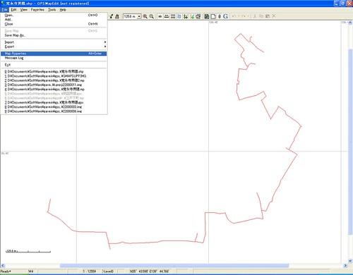 mapeditマッププロパティ選択