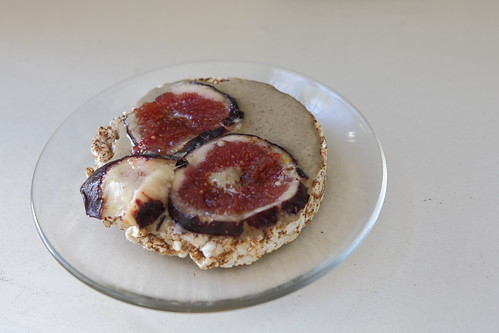 Fig Slices with Ethiopian Tahini photo by zeevveez