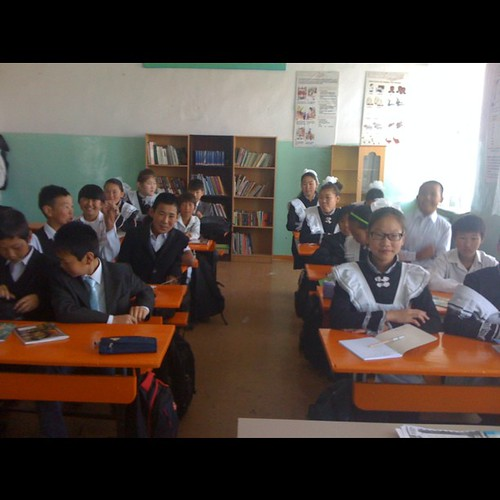 Happy first day of school Mongolia! by marikaan