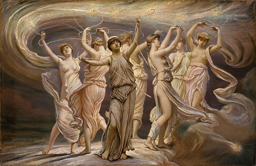 Elihu Vedder - The Pleiades [1885] by Gandalf's Gallery