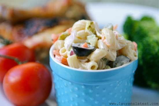 Simple Macaroni Salad 1