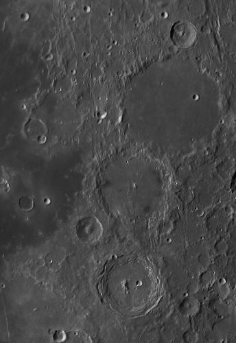 Ptolemaeus, Alphonsus, Arzachel - 060912 by Mick Hyde