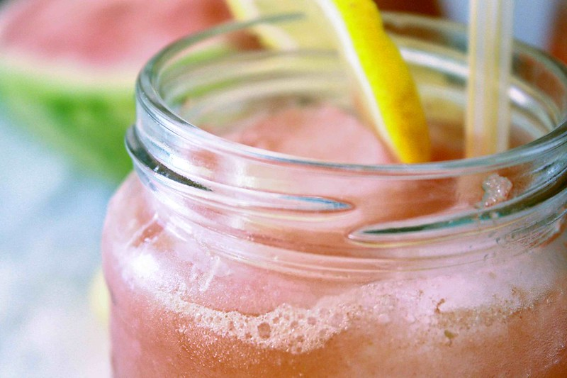 Melon Lemonade, closeup