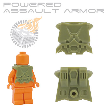 Powered Assault Armor - Olive Green