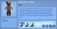 Scary Bearys - Witch