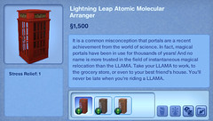 Lightening Leap Atomic Molecular Arranger