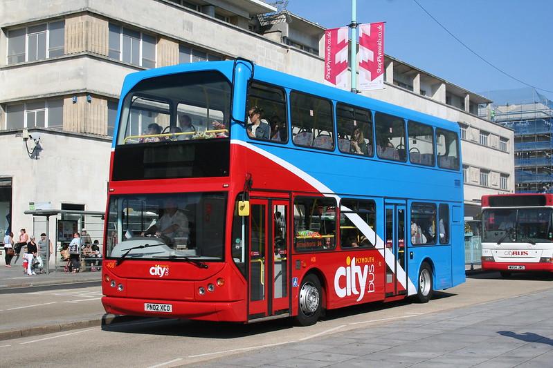 Plymouth Citybus 408 PN02XCO