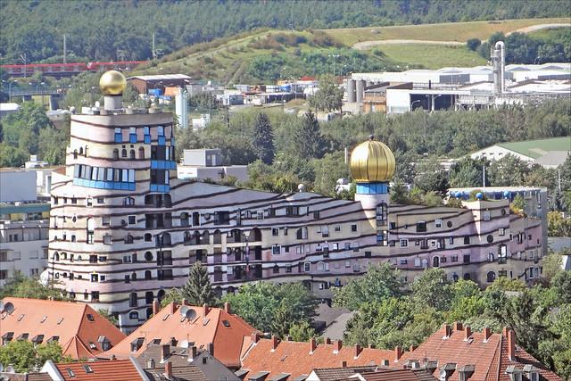 L Immeuble Waldspirale Darmstadt Flickr Photo Sharing