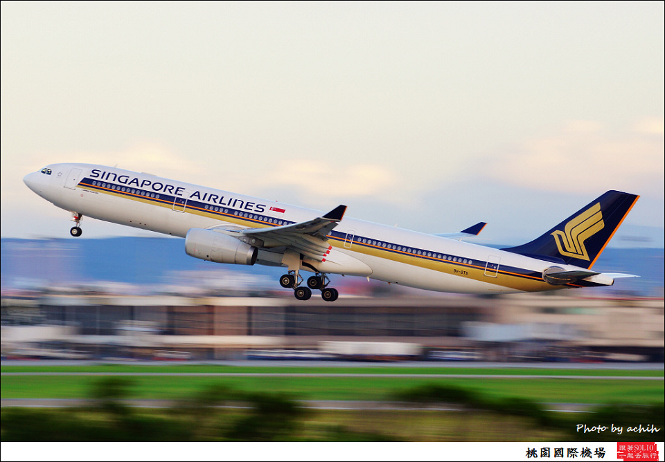 Singapore Airlines / 9V-STS / Taiwan Taoyuan International Airport